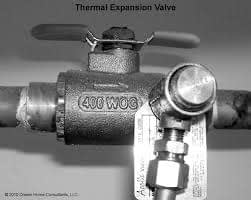 thermal expansion valve